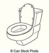 Toilet Flush Vector Clip Cartoon Clipart Illustration Potty Bathroom Flushing Illustrations Hand Drawn Gograph Down Colematt Accessories Fotosearch Bowl Royalty sketch template