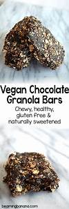 Vegan Chocolate Granola Bars Beaming Banana