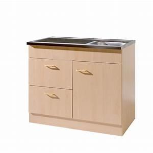 Arbeitsplatte Küche 60 Cm : k chen sp lenschrank mit siphon 1 t rig 2 ausz ge breite 100 cm tiefe 60 cm buche k che ~ Indierocktalk.com Haus und Dekorationen