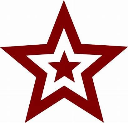 Star Clip Vector Military Clipart Flag Communism