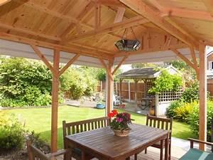 überdachte Terrasse Holz : deko ideen windschutz f r terrasse und balkon w hlen 20 ideen und tipps ~ Whattoseeinmadrid.com Haus und Dekorationen