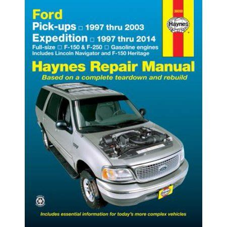 what is the best auto repair manual 1997 dodge dakota club spare parts catalogs haynes ford pick ups expedition lincoln navigator automotive repair manual f 150 1997 through