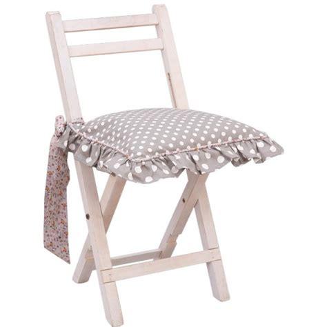 galette de chaise avec volant galette de chaise a volant