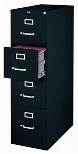 hirsh industries 4 drawer letter file cabinet in black With hirsh industries 4 drawer letter file cabinet in putty