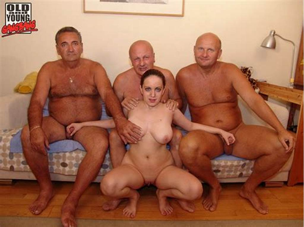 #Three #Old #Men #And #A #Young #Chick #Fucking #And #Sucking