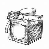 Bottle Blank Label Potion Monochrome Bubbled Elixir Square sketch template