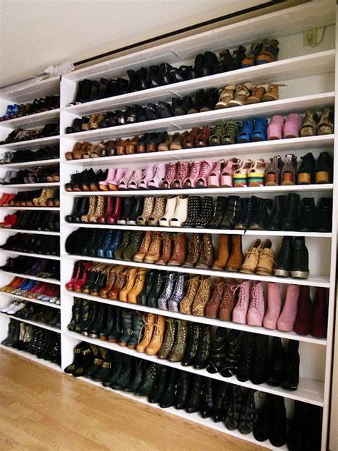 Ikea Shoe Racks For Closets by Ultimate Shoe Wardrobe Cherri Bellini