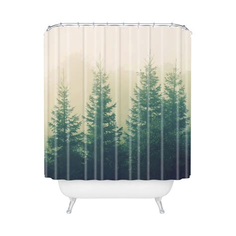 gray living nature shower curtain effort to bring nature awe homesfeed