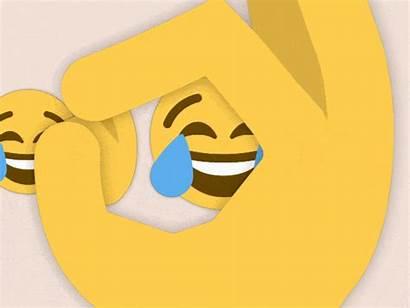 Emoji Crying Gifs Emojis Happy Insert Creaciones