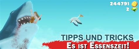 Hungry Shark  Evolution Tipps Und Tricks + Krabbenboss