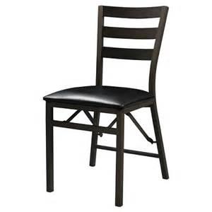 linon home decor folding chair black target