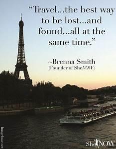Europe Travel Q... Inspirational Paris Quotes