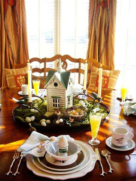 creative easy diy tablescapes ideas  easter