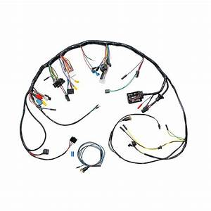mustang under dash wiring harness without tachometer 1967 With dash wiring harness