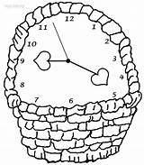 Clock Coloring Pages Wall Face Cool2bkids Basket Printable Grandfather Clocks Alarm Intervals Minute Printables Getcoloringpages Cuckoo Wake Call Log Coloringpagesonly sketch template