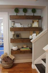 floating shelves ideas Simple DIY: Floating Shelves Tutorial + Decor Ideas - simply organized