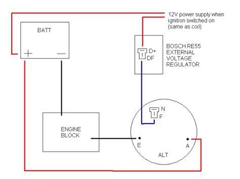 bosch alternator  external regulator problem    page