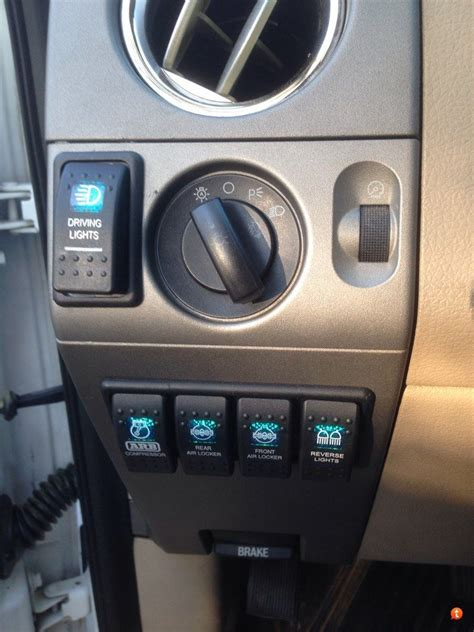 Aux Switch With Factory Look Page Ford Forum