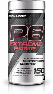 Cellucor P6 Extreme Pump Testosterone Booster