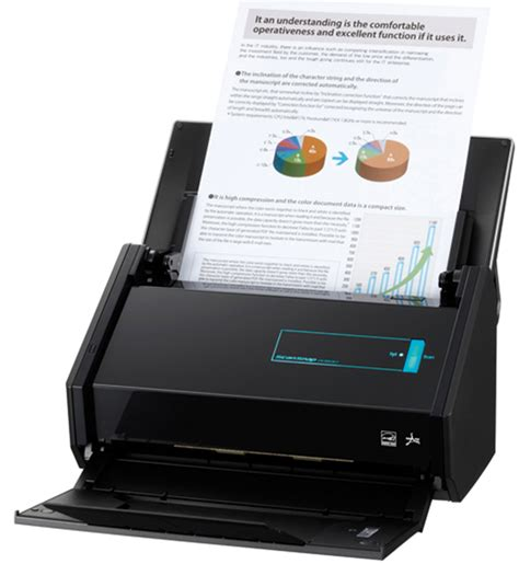 Fujitsu's ScanSnap ix500 ups the ante for desktop scanning