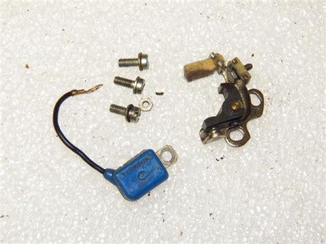 stihl  chainsaw points  condenser set chainsawr