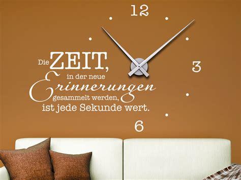 Wandtattoo Uhr Die Zeit, In Der Neue Erinnerungen