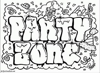 Coloring Graffiti Letters Recognition Develop Creativity Ages