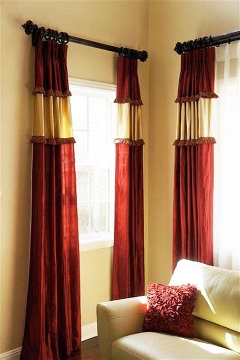 custom drapes traditional curtains orange county