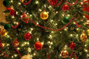 tree decoration gold green image 244466 on favim