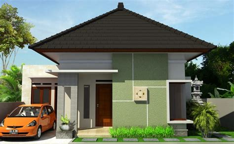 gambar desain rumah idaman model atap limas desain minimalis