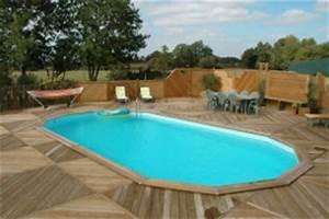 Enterrer Une Piscine Hors Sol : piscines bois durapin ma va 700 une piscine de qualit en promo ~ Melissatoandfro.com Idées de Décoration