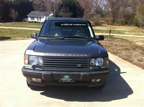 2002 Range Rover Hse by 2002 Land Rover Range Rover Hse Sport Utility 4 Door 4 6l