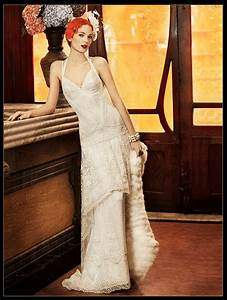 flapper wedding dress yolan cris paris deco weddings With flapper style wedding dress
