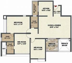 Wiring Diagram 3 Bedroom Flat