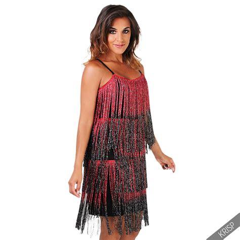 20er jahre kleid damen damen kleid fransenkleid 20er jahre swing charleston minikleid partykleid kurz ebay