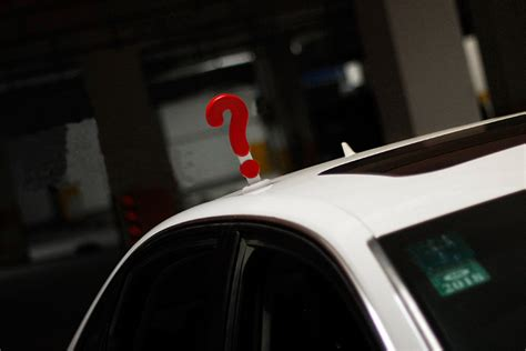 Wentongzi® 20cm Schattig Solid Question Mark Type Car Roof
