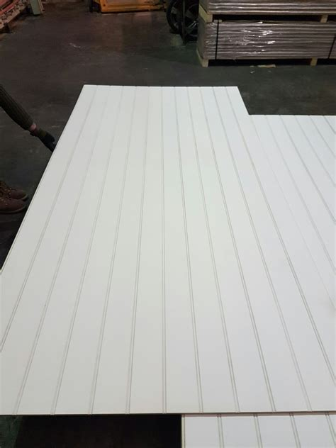 Primed Butt & Beaded Panel Moisture Resistant MDF