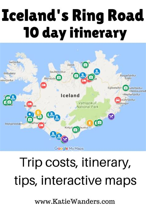day itinerary icelands ring road including day day