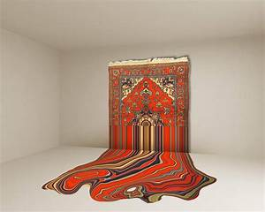 Faig ahmed tradition meets progress with azerbaijan for Carpet art installation