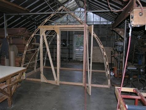 build     gothic arch greenhouse
