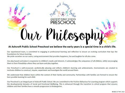 preschool philosophy ashcroft school 801 | preschool philosophy