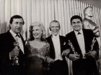 Ginger Rogers and Fred Astaire present the Oscars for ...