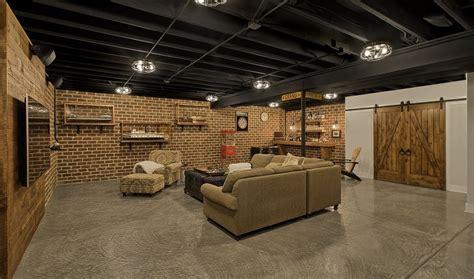 frankfort industrial basement gander builders