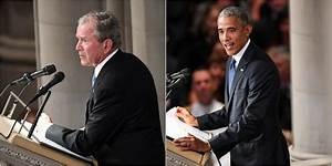 Excerpts from the eulogies for John McCain by Bush and ...