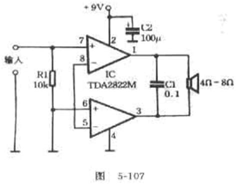 Tda Integrated Amplifier Circuits General Schematic
