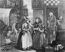 A Harlot's Progress, plate 1 - William Hogarth - WikiPaintings.org