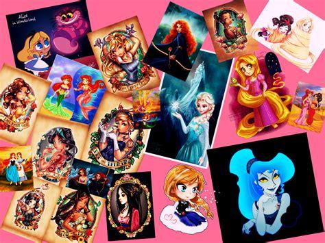 disney princess collage by theresa10293 on deviantart