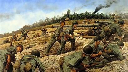 Vietnam War Military Wallpapers Background Jungle Artillery