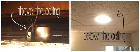 how to install can lights the most contemporary recessed lighting in a drop ceiling