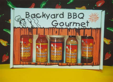 5 Pack Backyard Bbq Sauces & Seasoning Collection